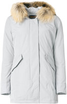Woolrich classic padded coat - women - Feather Down/Polyamide/Polyester - M