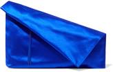 Diane von Furstenberg Satin Clutch - Blue