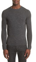A.P.C. Men's Pull Salford Speckled Crewneck Sweater
