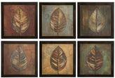 Uttermost 6-pc. ''New Leaf Panel'' Framed Wall Art Set