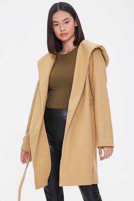 Forever 21 Hooded Wrap Jacket