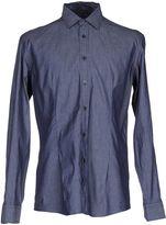 Grey Daniele Alessandrini Denim shirts