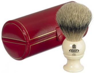 Kent Bk2 Traditional Pure Grey Badger Shaving Brush