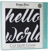 NEW Bubba Blue Small World Cot Quilt Cover