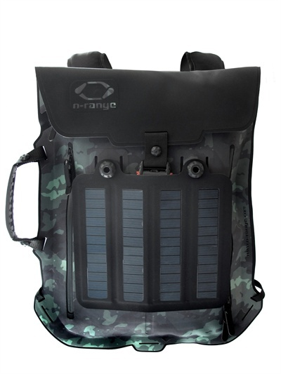 O-Range - Nylon Backpack With 4.5w Solar Panels