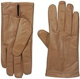 Isotoner Men's Smooth Leather smarTouch Gloves