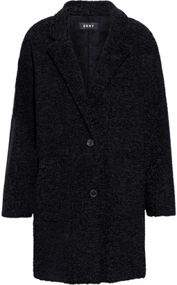 DKNY Faux Shearling Coat