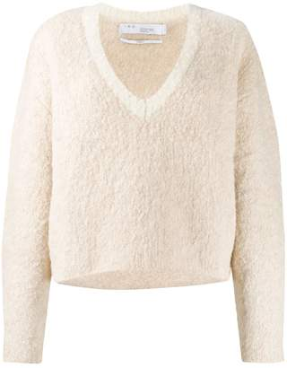 IRO relaxed-fit long sleeve jumper