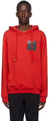 Maison Margiela Red Stereotype Hoodie