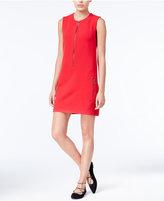 Rachel Roy Zip-Front Shift Dress