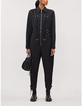 Stella McCartney Long-sleeved wool-blend jumpsuit