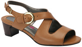 Ros Hommerson Tan Patsy Slingback Leather Sandal
