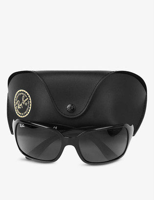 Ray-Ban Black high street square sunglasses RB4068 60