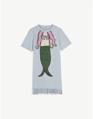 Stella McCartney Cotton mermaid dress 4-14 years