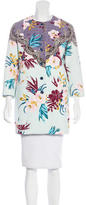 Etro Short Floral Print Coat w/ Tags