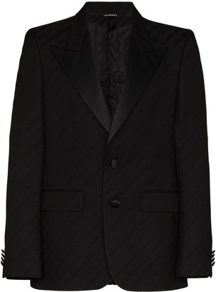 Givenchy Satin-Lapel Single-Breasted Blazer