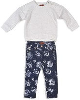 7 For All Mankind Infant Girls' Zigzag Quilted Sweatshirt & Skinny Jeans Set - Sizes 12-24 Months