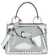 Proenza Schouler Metallic Small Hava Top-Handle Bag
