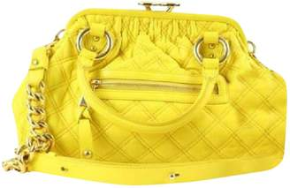 Marc Jacobs Stam Yellow Leather Handbags