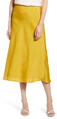 Chelsea28 Jacquard Midi Skirt