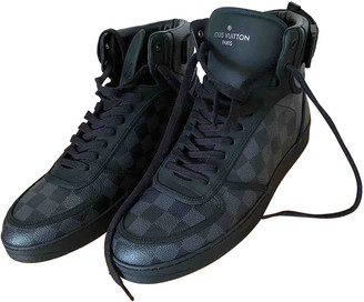 Louis Vuitton Rivoli Black Cloth Trainers