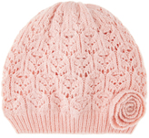 Monsoon Baby Lacey Flower Beanie