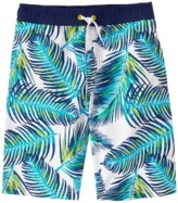 Crazy 8 Palm Swim Trunks