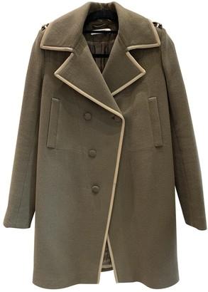 Givenchy Khaki Wool Coat for Women