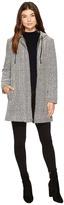 BB Dakota Herbert Slub Weave Hooded Parka Women's Coat