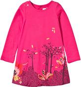 Catimini Fuchsia Printed Dress