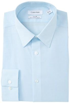 Calvin Klein Slim Fit Stretch Check Dress Shirt