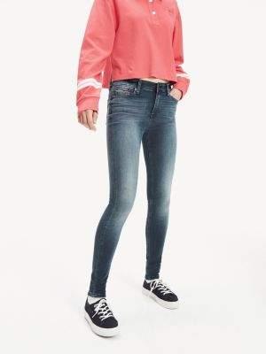 Tommy Hilfiger Dynamic Stretch Blue-Black Wash Skinny Jeans