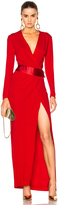 Alexandre Vauthier Long Sleeve Maxi Dress