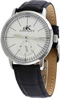 Adee Kaye #AK9044-M Men's Retro Vintage Leather Band Dial Automatic Watch