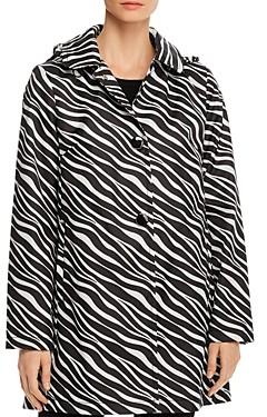 Kate Spade Zebra Print Raincoat