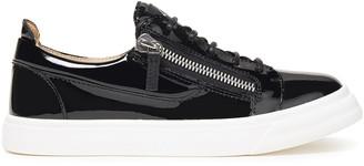Giuseppe Zanotti Patent-leather Sneakers