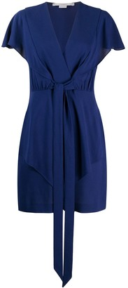 Stella McCartney tie waist short dress