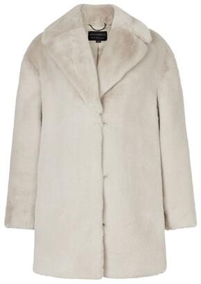 AllSaints Faux Fur Amice Jacket