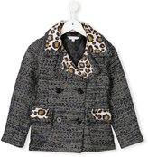 Little Marc Jacobs jacquard coat - kids - Acrylic/Polyamide/Polyester/Metallized Polyester - 5 yrs