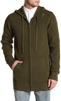 Zanerobe Waffle Hood Knit Zip Jacket