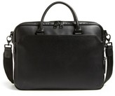 Vince Camuto Turin Leather Briefcase - Black