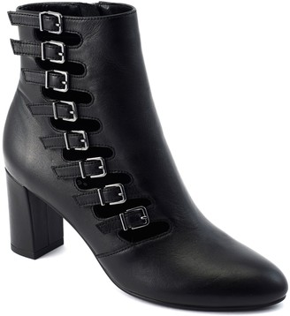 David Tate Leather Ankle Boots - Mood