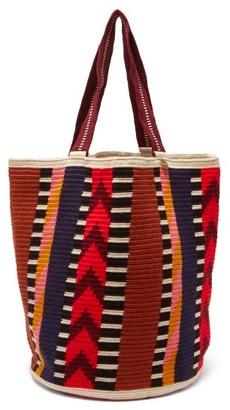Guanabana - Harare Stripe-woven Tote Bag - Multi