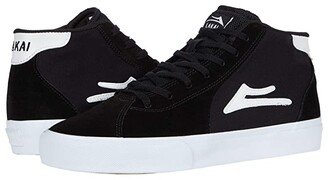 Lakai Flaco II Mid (Black Suede) Men's Shoes