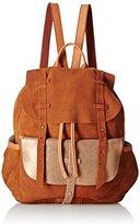 Mila Louise Women's Juliet Croute/Spark Camel Backpack Handbag Brown One Size
