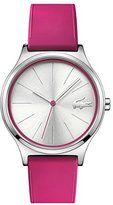 Lacoste Women's 'Nikita' Quartz Stainless Steel and Silicone Casual Watch, Color:Pink (Model: 2000943)