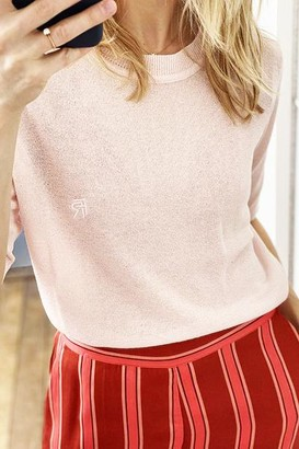FRNCH Norma Ms 20 20 Pullover Rose Pale - M