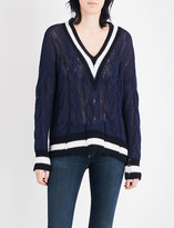 Rag & Bone Emma V-neck knitted jumper