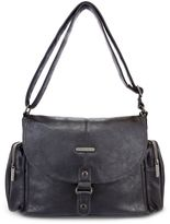 Timi & Leslie Metro Messenger Diaper Bag in Soho Black