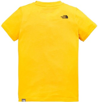 The North Face ChildrensBox Short Sleeve T-Shirt - Gold